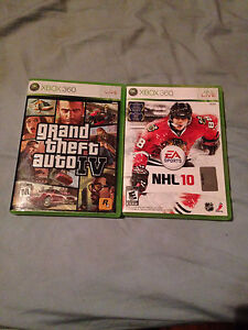 2 Xbox360 games $15 each NEED GONE!