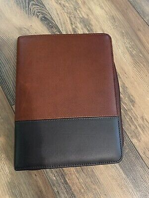 Franklin Covey Classic Logan Leather Binder