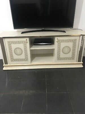 use Versace Venice cream and God italian  plasma cabinet