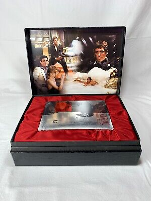 Al Pacino SCARFACE 2 Disc Special Edition Anniversary DVD Collector's Box Set