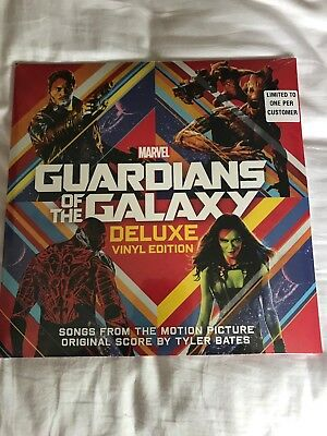 Guardiams Of The Galaxy Deluxe Vinyl Edition