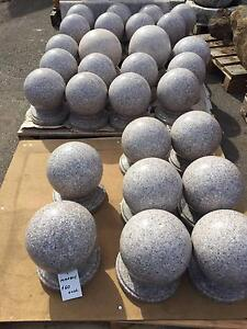 Granite spheres for fence decoration Greenacre Bankstown Area Preview