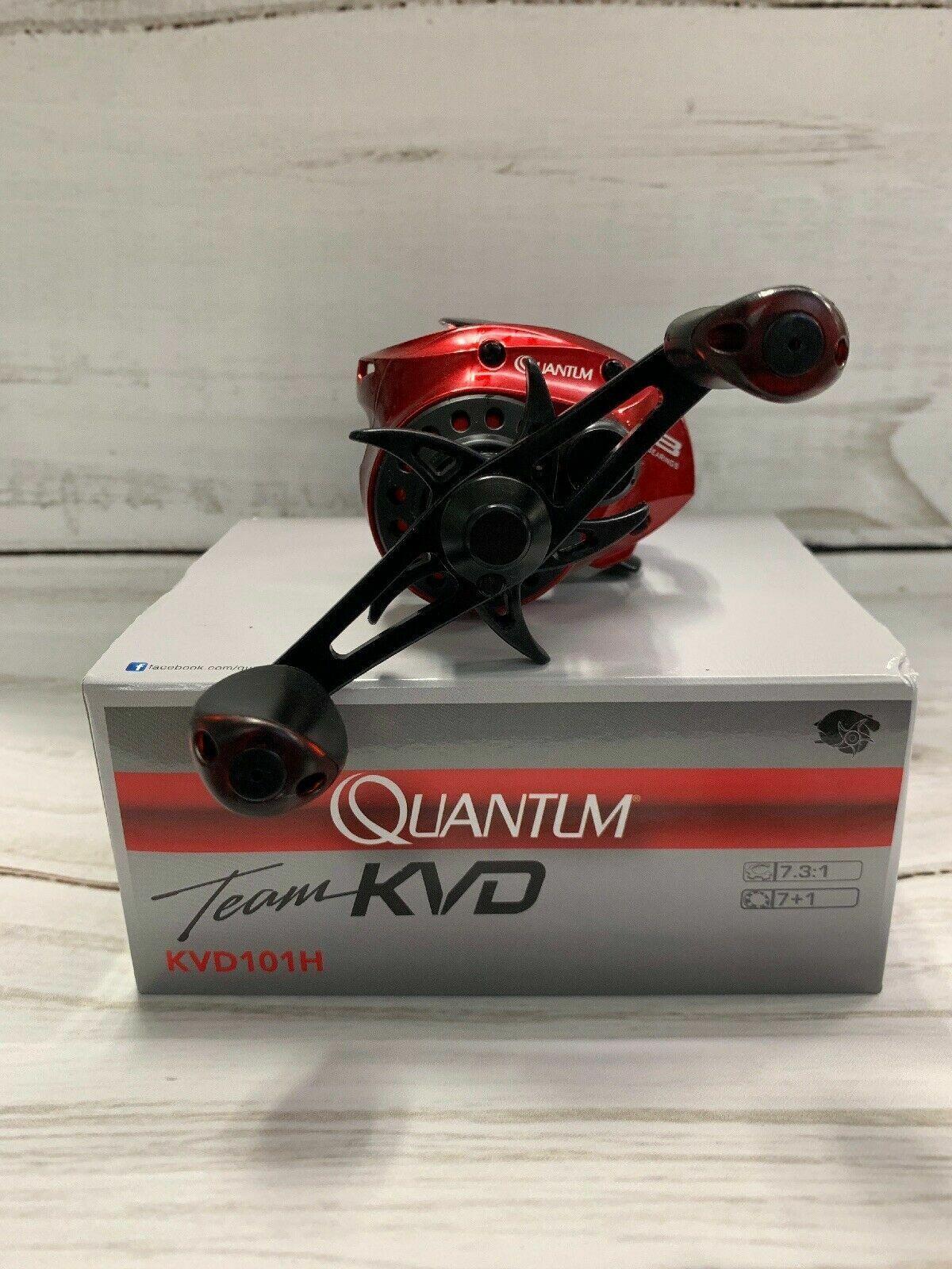 Quantum KVD100H Team KVD Baitcast Reel
