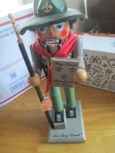 "Boy Scout Nutcracker Steinbach  15"" Germany"