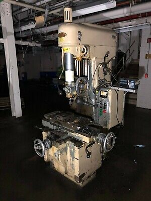 Moore Special Tool Model 3 Jig Borer Boring Press Machine Bridgeport 440v