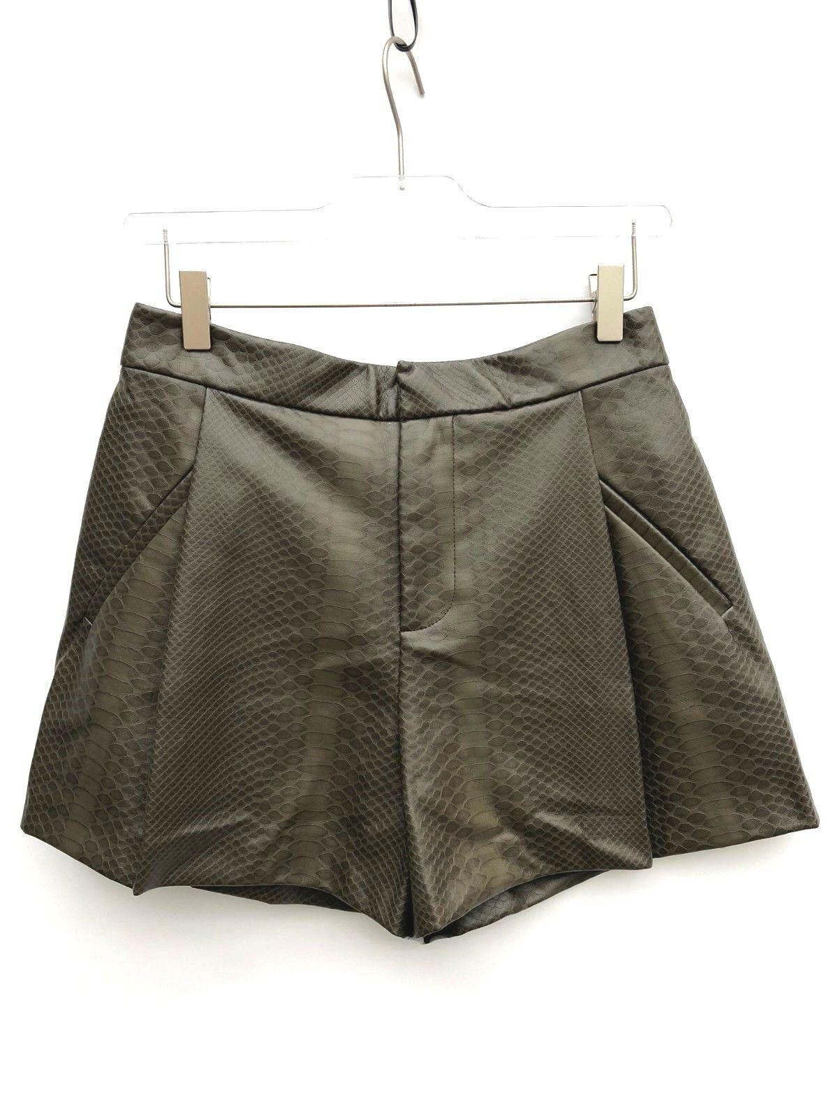 Pantaloni Zara in Sintetico Multicolore taglia XS