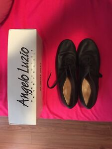 Angelo Luzon adult tap shoes size 8 fits 9.5