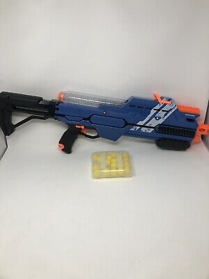NERF Gun - RIVAL HYPNOS XIX-1200 - Ammo Clips and 20 Ammo Balls with Carry Case