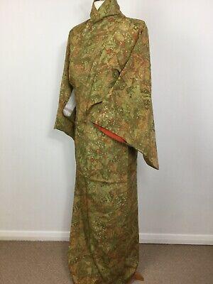SALE-Vintage Authentic Kimono Royal Gorgeous Stylish Design #017