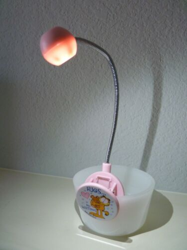 GARFIELD Clip Book Light For Reading LED
