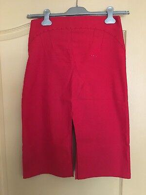 Miss Bluemarine Red Midi Skirt 14 Y/O