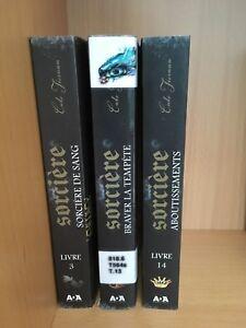 «Sorcière» 3 tomes