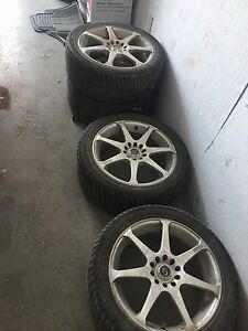 REDUCED!!! Core Racing Tires and Rims with 225/45/R17