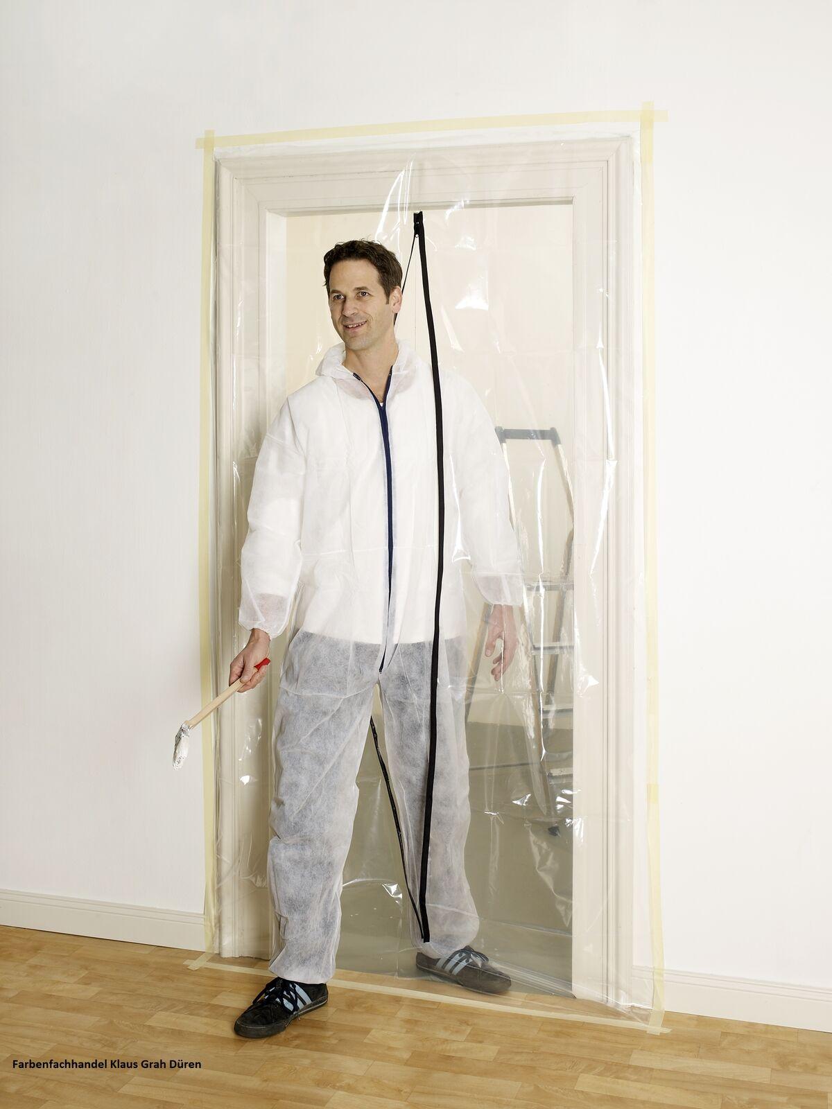 folient r mit rei verschlu 2100 x 1150 mm staubschutzt r baut re eur 12 08 picclick de. Black Bedroom Furniture Sets. Home Design Ideas