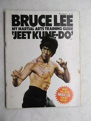 "Bruce Lee My Martial Arts Training Guide ""Jeet Kune-Do"" 1974 James Lee Magazine"