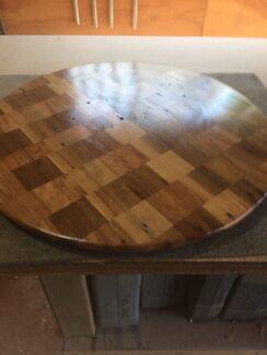 custom hardwood lazy susan