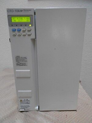 Shimadzu Cto-10a Vp Column Oven Hplc Liquid Chromatograph Tested Very Nice
