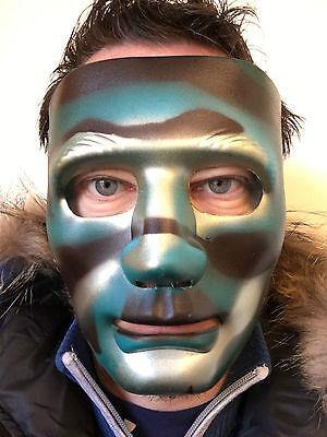 Tarnfarbe Pantomime Maske The Purge Roboter Dance Crew Halloween Hockey Hip Hop ()