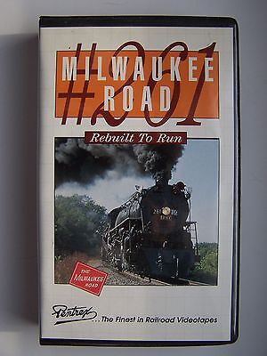Milwaukee Road 261 - Rebuilt to Run VHS Video