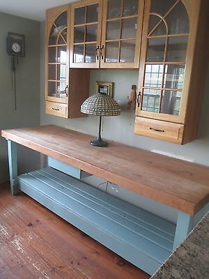 - chopping BLOCK TABLE kitchen CENTER ISLAND vtg DELIVERY POSSIBILITY zip code ?