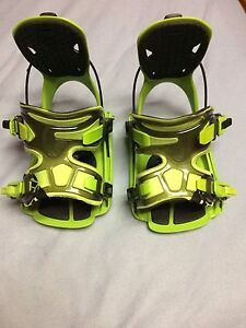 Lime green flow bindings need gone quick 100$