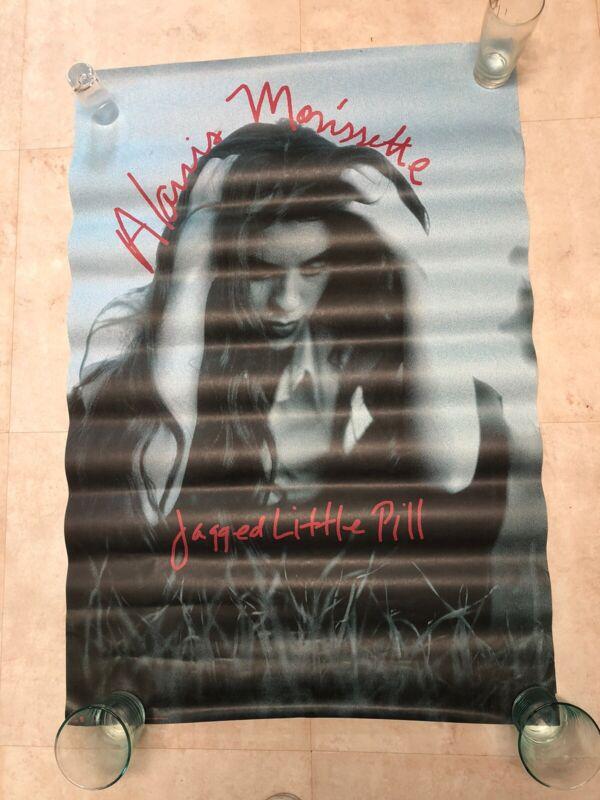 Alanis Morissette Promo Poster Jagged Little Pill