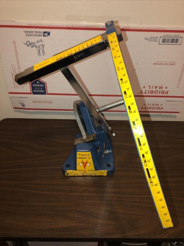 "Van-L Correct ""O"" Mark ii Iron Golf Club Adjuster loft lie machine"