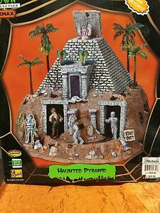Spooky Town Haunted Pyramid Halloween