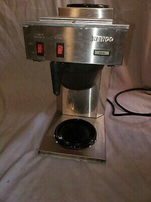 Newco Coffee Brewer Maker 2 Burner Warmer Tb-2d With Original Box