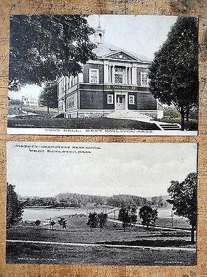 For sale 2 West Boylston Ma 1908s Town Hall Wachusett Viaduct