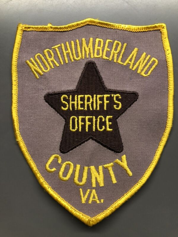 Northumberland County Virginia Sheriff Patch