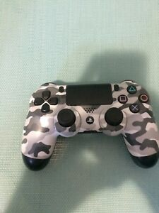 Great Condition PS4 White Camo PS4 Controller
