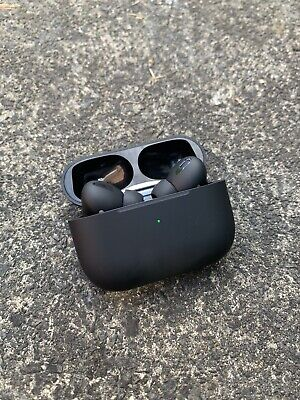 AirPods Pro - Matte Black, Highest quality Build With Full Apple Compatibility