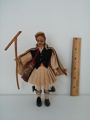 Greek Plastic Doll Traditional Outfit 6.5
