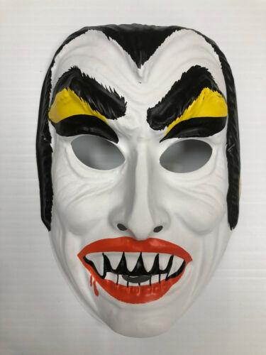Ben Cooper Original Dracula Vampire Halloween Mask New Old Stock Vintage