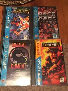 Sega CD Game Lot