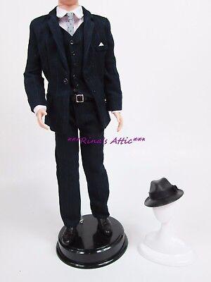 Silkstone Roger Sterling Ken Barbie Doll SUIT Fashion Outfit ~ Hat Suit Vest](Doll Suit)