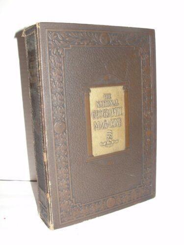 1927 NATIONAL GEOGRAPHIC MAGAZINE VOLUME LI - (JAN - MAY)