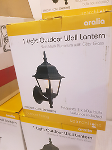 New outdoor wall lantern unused x7 Cockburn Peterborough Area Preview