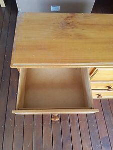 Pine Wood chest of draws Sunshine West Brimbank Area Preview
