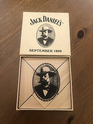 JACK DANIELS BOXED WOODEN JIGSAW PUZZLE SEPTEMBER 1999