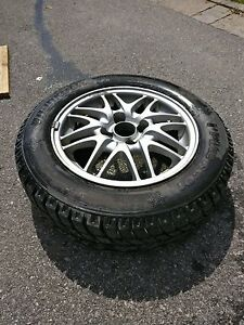 Acura Integra Wheels and winter tires 14""