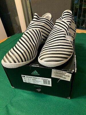 Adidas Nemeziz Tango 17+ IC - US 9.5 - Brand New in Box Black and White