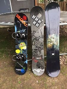 Snowboards.need gone ASAP!! $150 obo