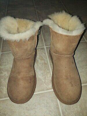 UGG Mini Bailey Bow II 1016501 Chestnut Women's Size 7 (W1)