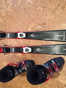 Youth Alpine Skis and Boots