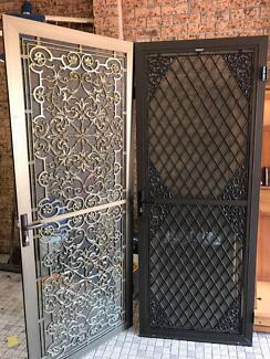 Security lockable fly screen doors - 2