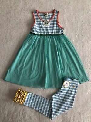 Girls Wildflowers Clothing Best Day Ever Breezy Betsy Dress Leggings Size 10 NWT](Girls Best Dresses)
