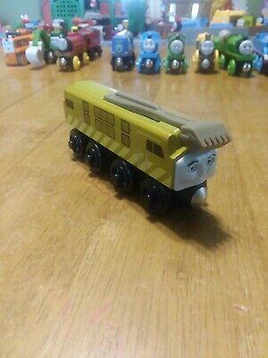Thomas & Friends Wooden Railway Train Tank Engine - Diesel 10 - Y4076
