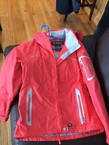Ladies wetskins rainsuit